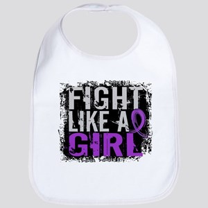 Licensed Fight Like a Girl 31.8 Epilepsy Bib