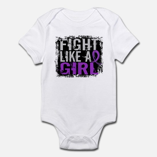 Licensed Fight Like a Girl 31.8 Ep Infant Bodysuit