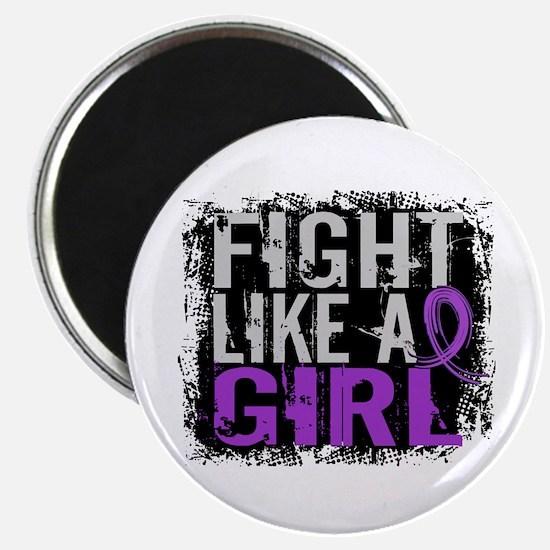 Licensed Fight Like a Girl 31.8 Epilepsy Magnet