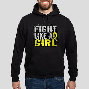 Licensed Fight Like a Girl 31.8 Endo Hoodie (dark)