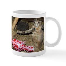 Chipmunk With Present Mug