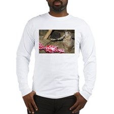 Chipmunk With Present Long Sleeve T-Shirt