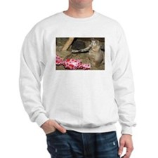 Chipmunk With Present Sweatshirt