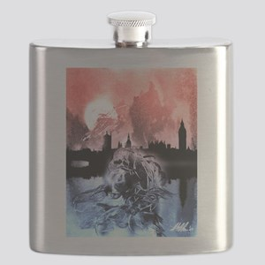Shoggoths of London Flask