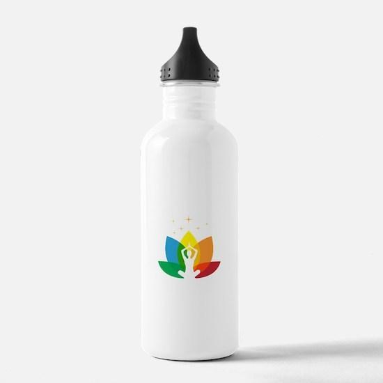 Audacity Yoga Sports Water Bottle