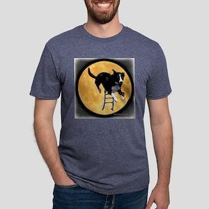 Tsuki Moon Mens Tri-blend T-Shirt