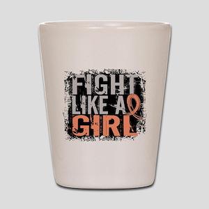 Licensed Fight Like a Girl 31.8 Endomet Shot Glass