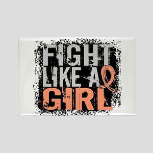 Licensed Fight Like a Girl 31.8 E Rectangle Magnet