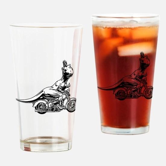 T-Wrecks Drinking Glass