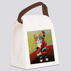 New Cat-of-Many-Color Canvas Lunch Bag