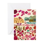red Greeting Cards