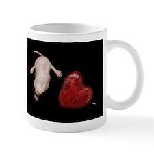 Naked Mole Rat With Heart Mug