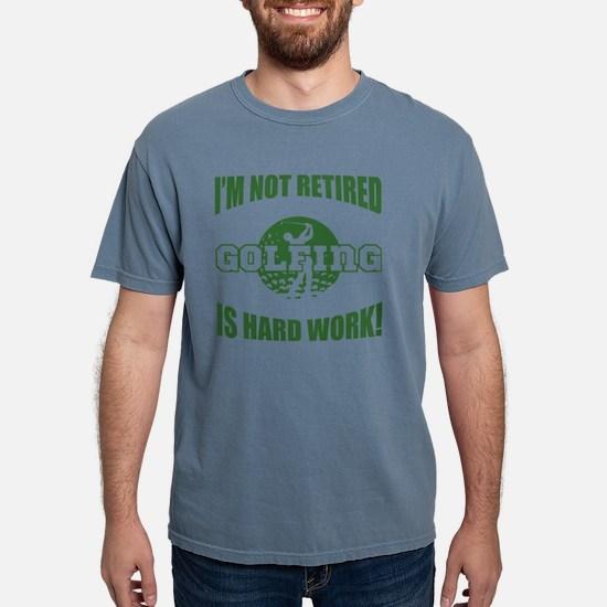 Retired Golf Lover Mens Comfort Colors Shirt