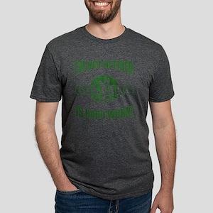 Retired Golf Lover Mens Tri-blend T-Shirt