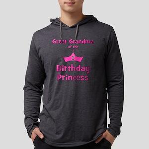 ofthebirthdayprincess_greatgrand Mens Hooded Shirt
