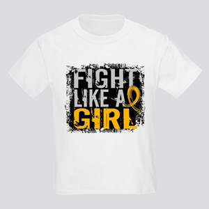 Licensed Fight Like a Girl 31.8 Kids Light T-Shirt