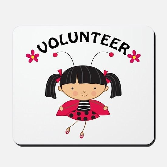 Volunteer Ladybug Mousepad