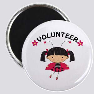 Volunteer Ladybug Magnet