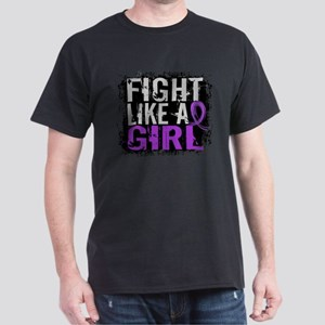 Licensed Fight Like a Girl 31.8 Chiar Dark T-Shirt