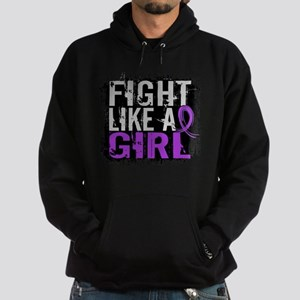 Licensed Fight Like a Girl 31.8 Chia Hoodie (dark)