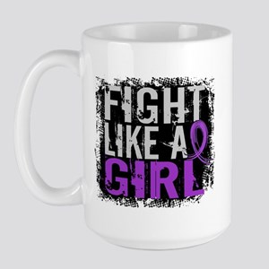 Licensed Fight Like a Girl 31.8 Chiari Large Mug