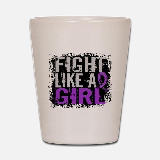 Licensed Fight Like a Girl 31.8 Chiari Shot Glass