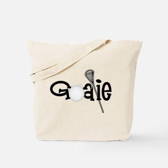 Lacrosse Goalie Tote Bag