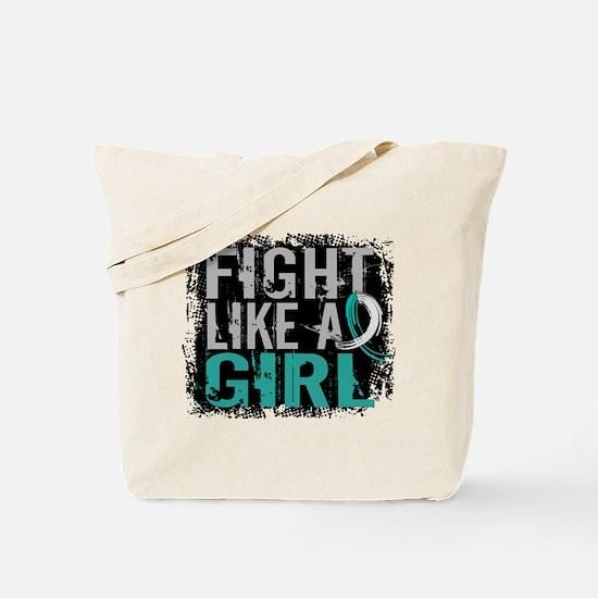 Licensed Fight Like a Girl 31.8 Cervical Tote Bag