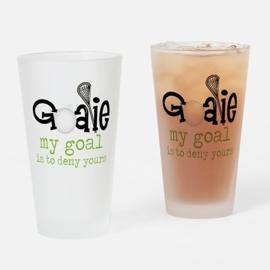 My Goal Drinking Glass