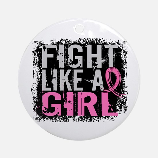 Licensed Fight Like a Girl 31.8 Ornament (Round)