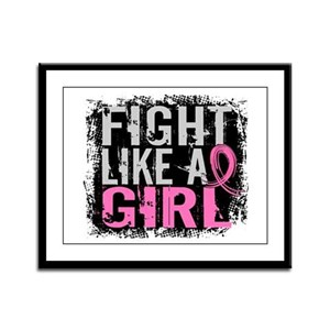 Licensed Fight Like a Girl 31.8 Framed Panel Print