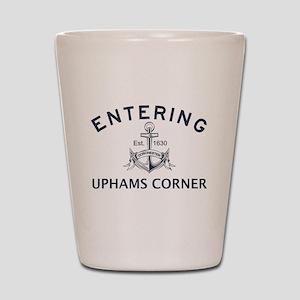 UPHAMS CORNER Shot Glass