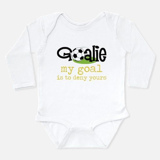 My Goal Long Sleeve Infant Bodysuit
