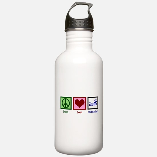 Funny Lifeguard Water Bottle