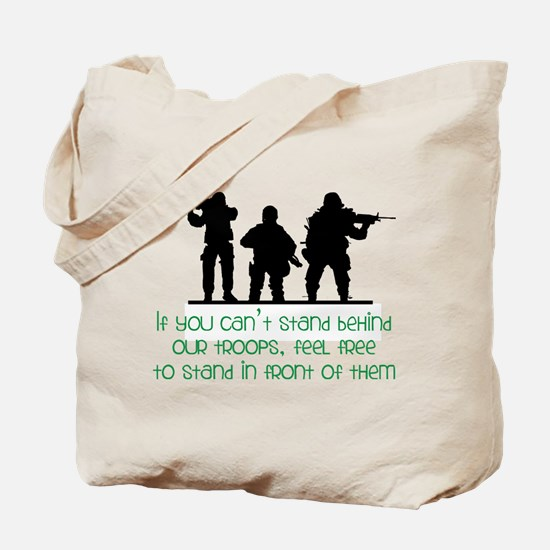 Our Troops Tote Bag