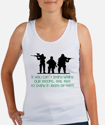 Our Troops Women's Tank Top