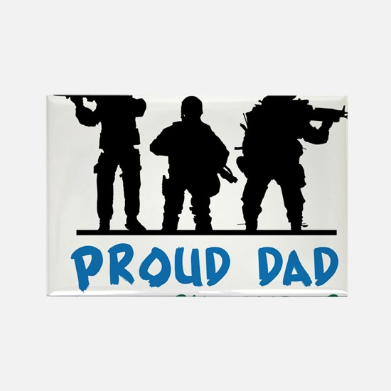 Proud Dad Rectangle Magnet