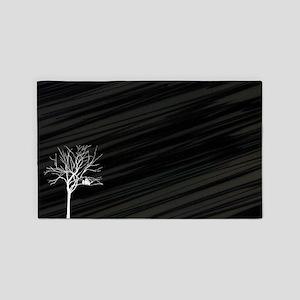 Winter Tree 3'x5' Area Rug