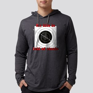 target6 Mens Hooded Shirt