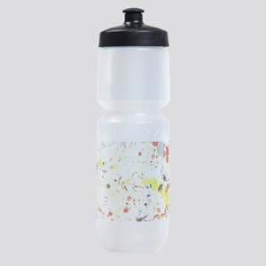 Paint Splatter Sports Bottle