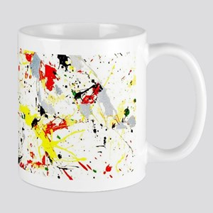 Paint Splatter Mugs