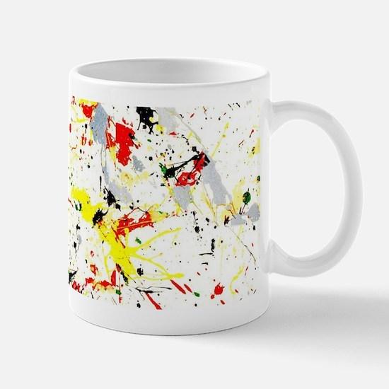 Paint Splatter Mugs
