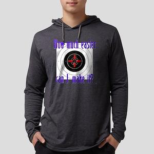 target12 Mens Hooded Shirt