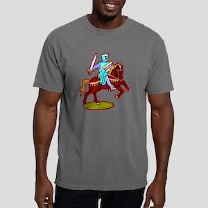 gvHorse395 Mens Comfort Colors Shirt