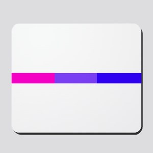 Bi Pride Horizontal Bar Mousepad