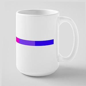 Bi Pride Horizontal Bar Large Mug