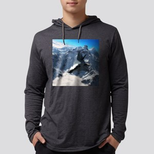 F-22 Raptor Mens Hooded Shirt
