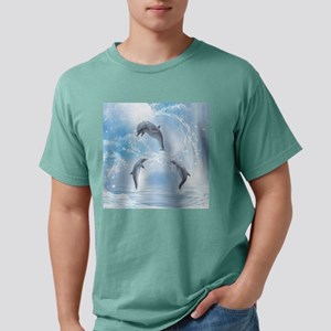 The Dreams Of Dolphins Mens Comfort Colors Shirt