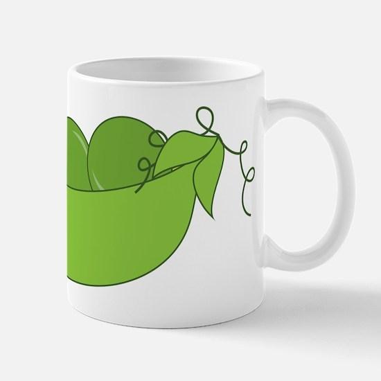 Green World Peas Mug