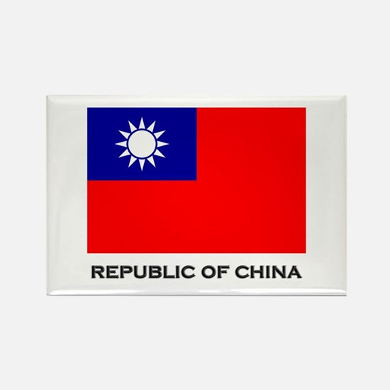 The Republic Of China Flag Stuff Rectangle Magnet